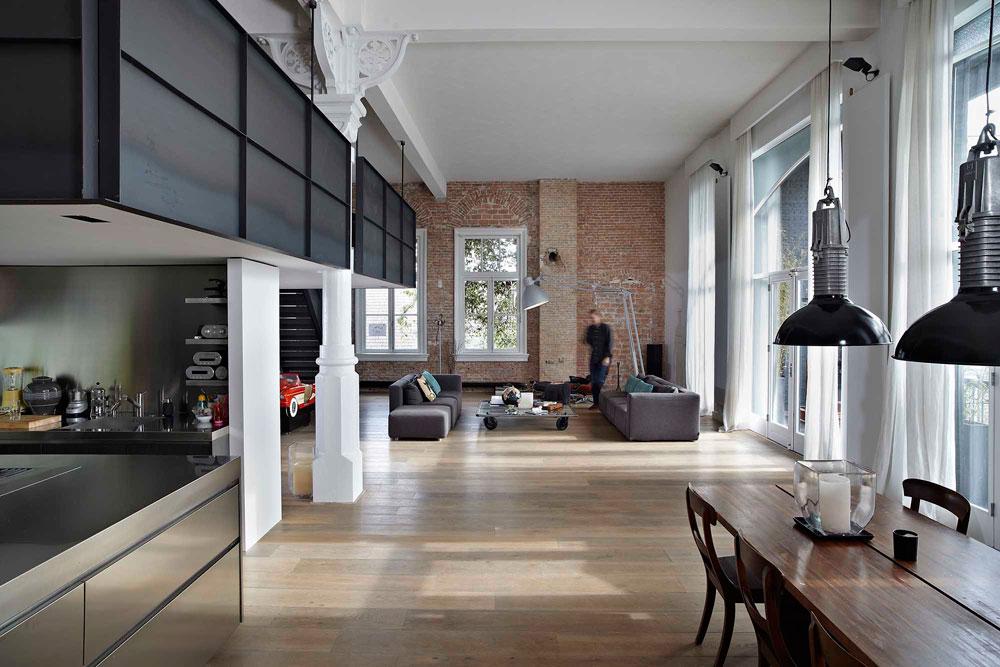 Moderno loft en msterdam blog tienda decoraci n estilo - Decoracion estilo loft ...