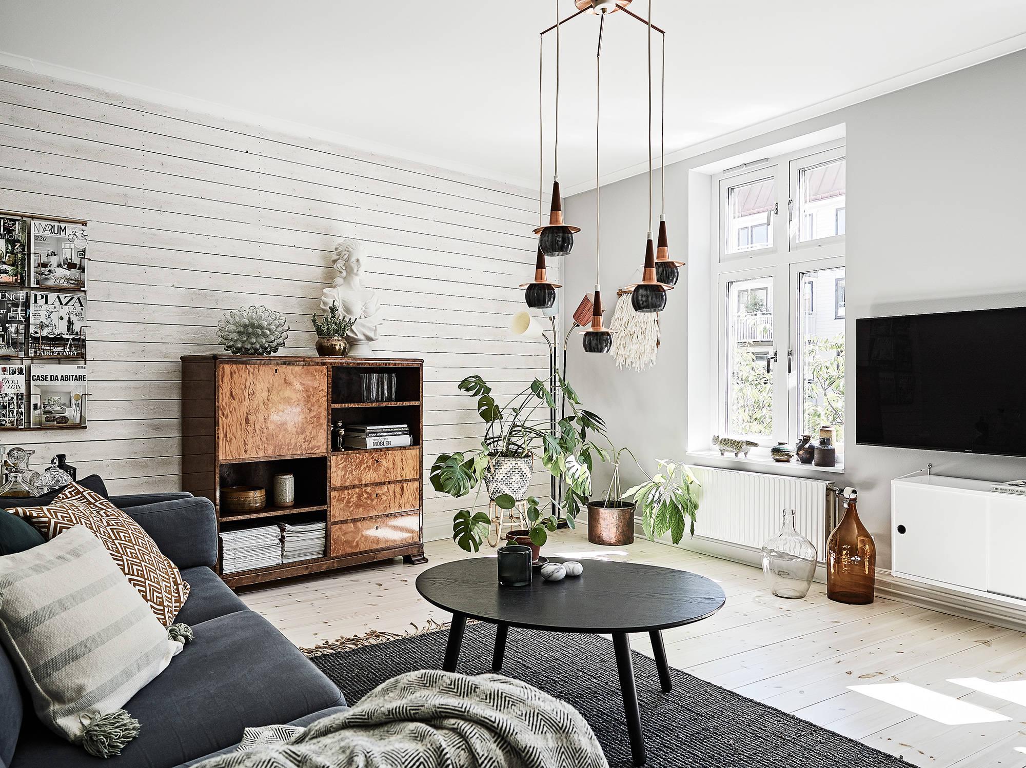 Paredes con paneles de madera blog tienda decoraci n estilo n rdico delikatissen - Paneles de madera para paredes interiores ...