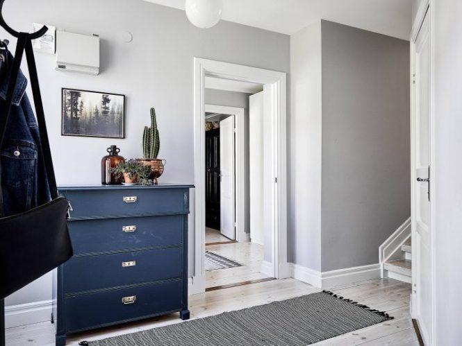 piso sueco pared de madera paneles de madera estilo nórdico decoración pisos pequeños decoración interiores blog decoración nórdica
