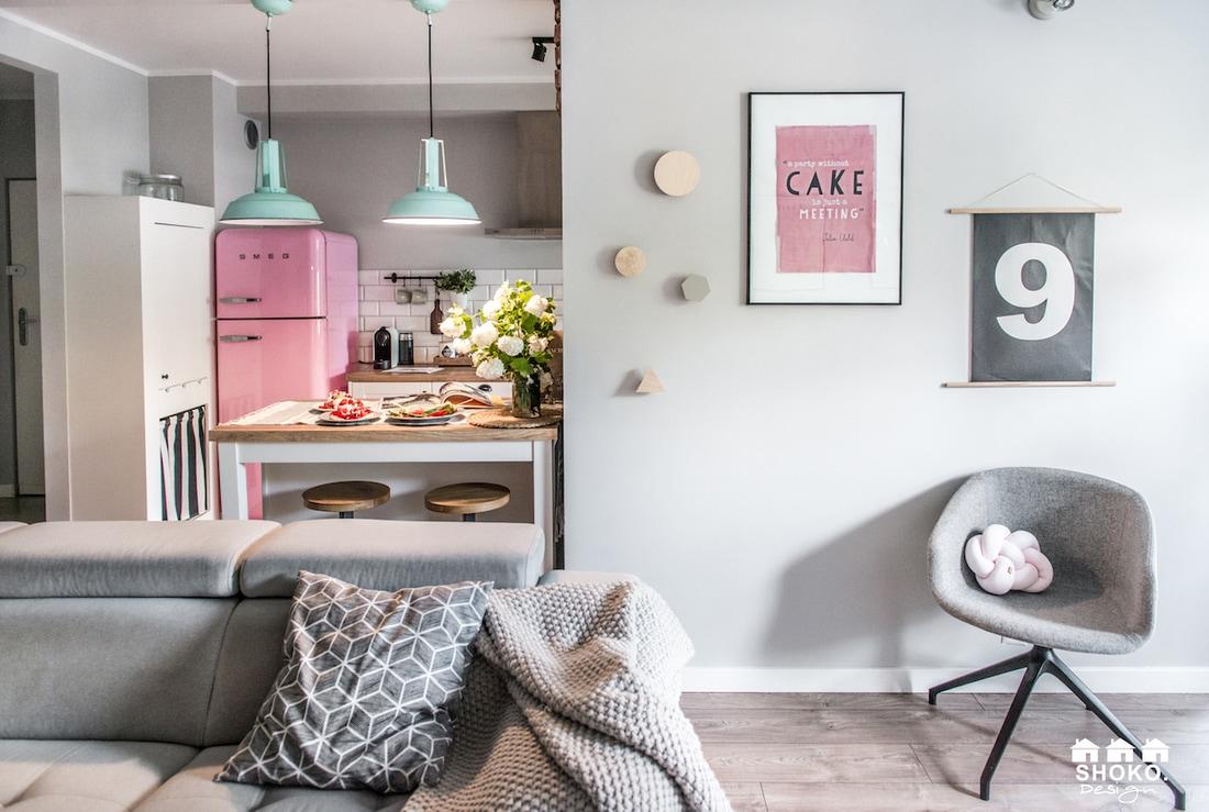 Frigor fico smeg rosa blog tienda decoraci n estilo - Cocinas retro anos 50 ...