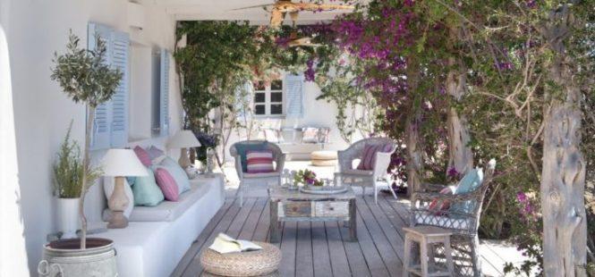 estilo nórdico estilo mediterráneo diseño exteriores casas de verano casas de vacaciones