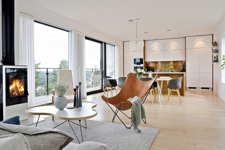 Ganar en amplitud con una cocina abierta al salón - Blog ...