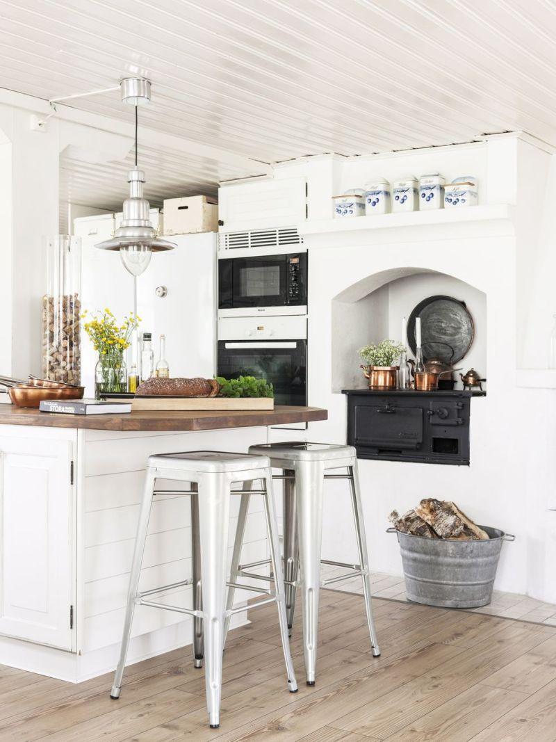 Cocina country clásica en el corazón de esta casa sueca - Blog ...