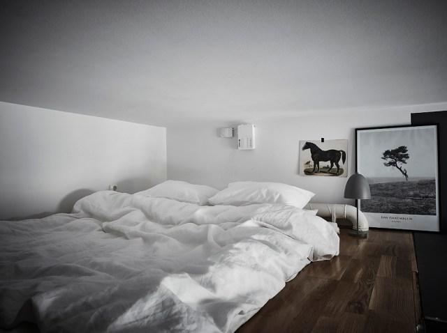 Dormitorio en negro