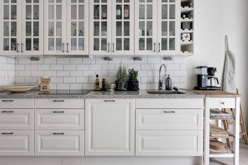Armarios vitrina en la cocina - Blog tienda decoración estilo ...