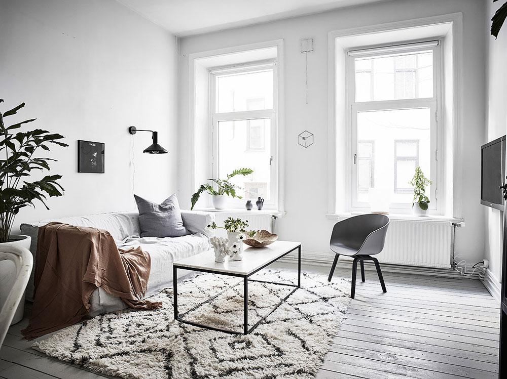 6 consejos para un sal n de estilo n rdico blog tienda - Salones estilo nordico ...