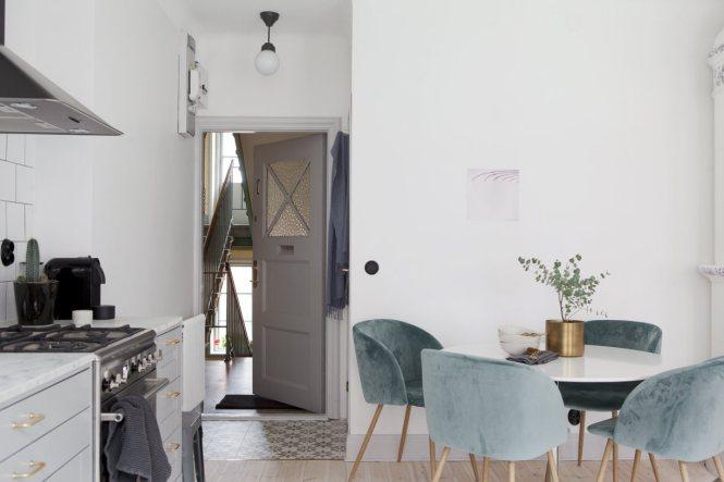mini piso sueco estilo nórdico diseño interiores decoración mini pisos decoración interiores decoración estudio decoración espacios pequeños buenas calidades decoración