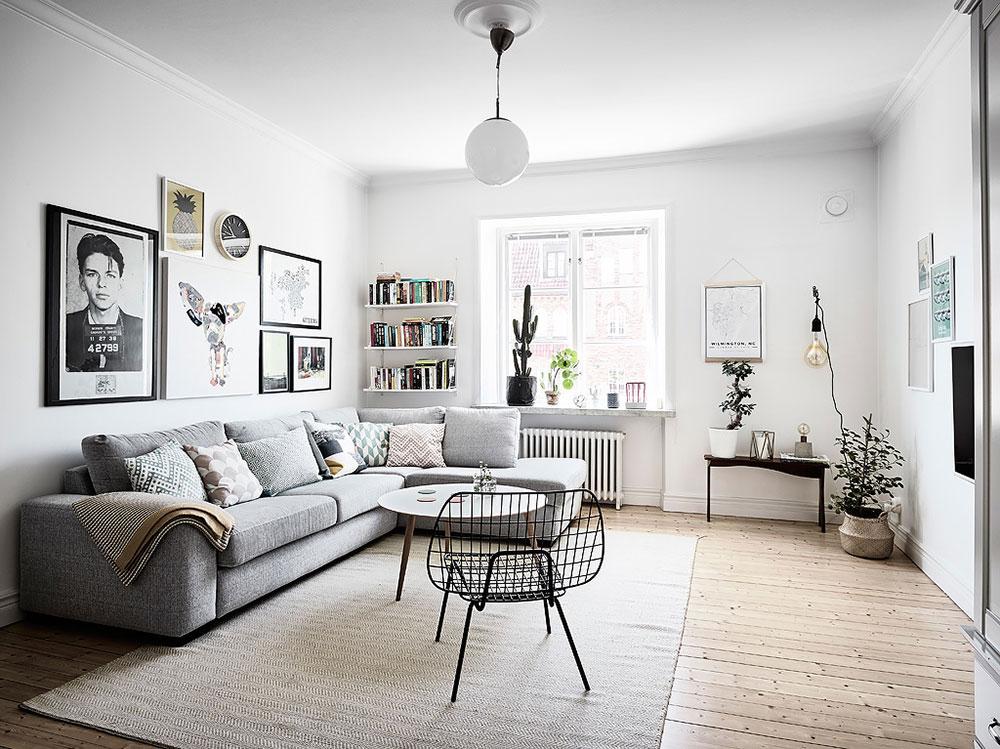 6 consejos para un sal n de estilo n rdico blog tienda for Decoracion salon estilo nordico