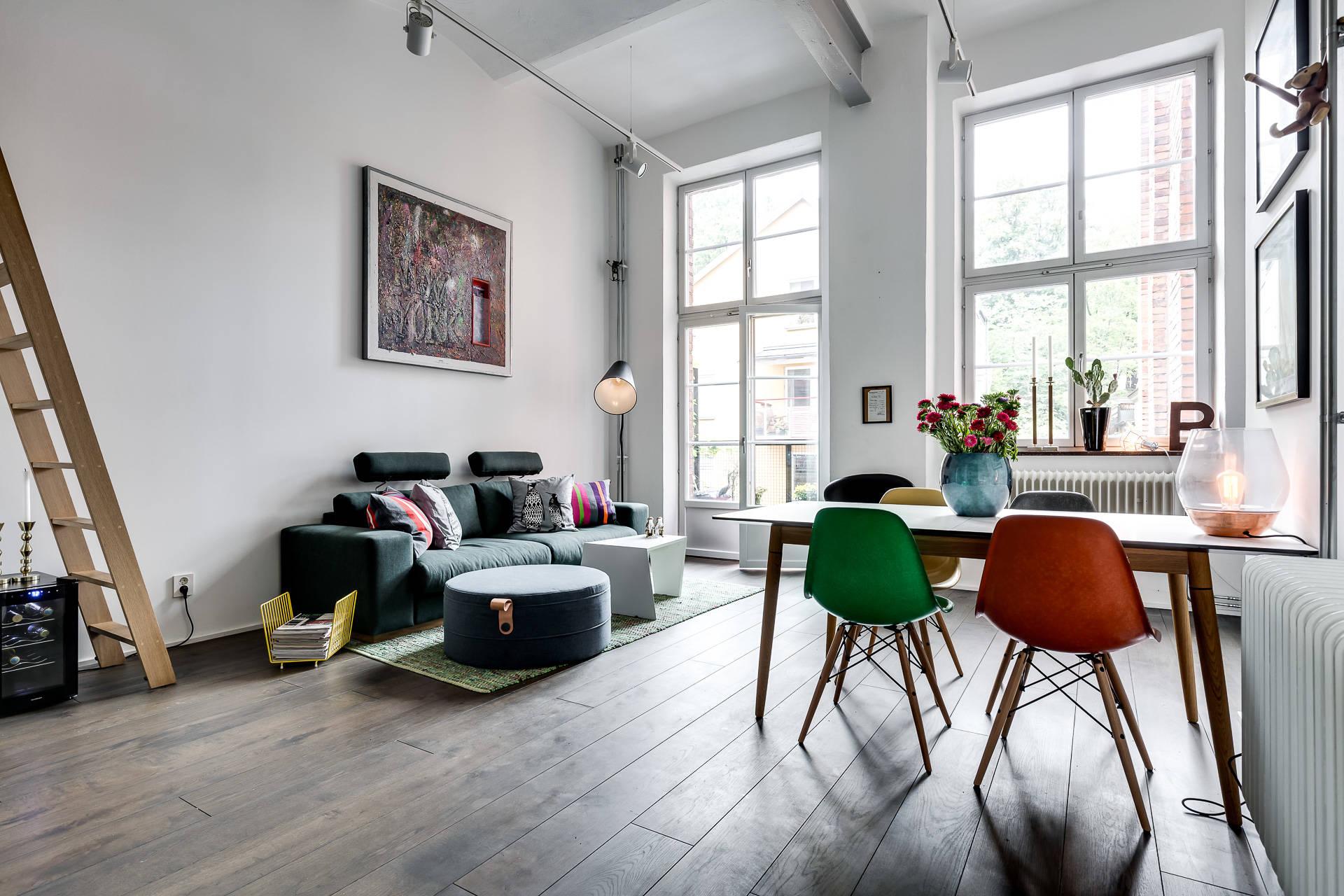 D plex industrial masculino y con color blog tienda for Decoracion duplex pequenos