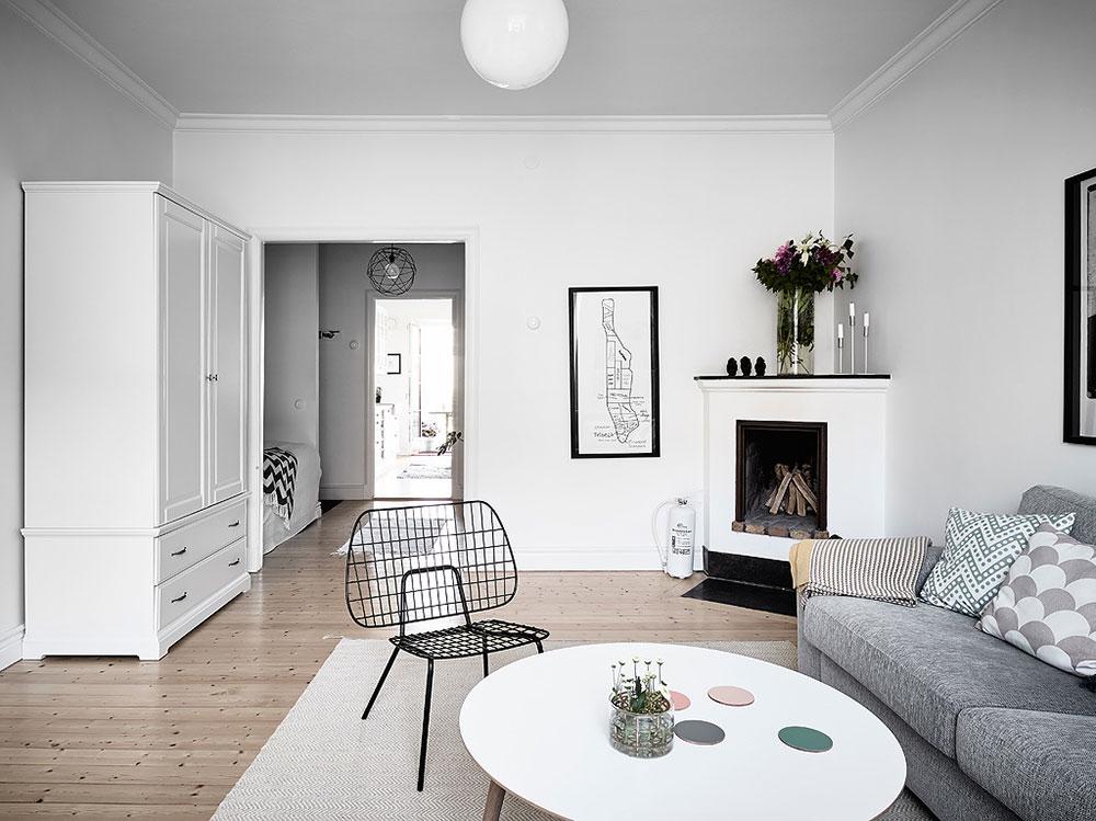 6 consejos para un sal n de estilo n rdico blog tienda - Estilo escandinavo decoracion ...