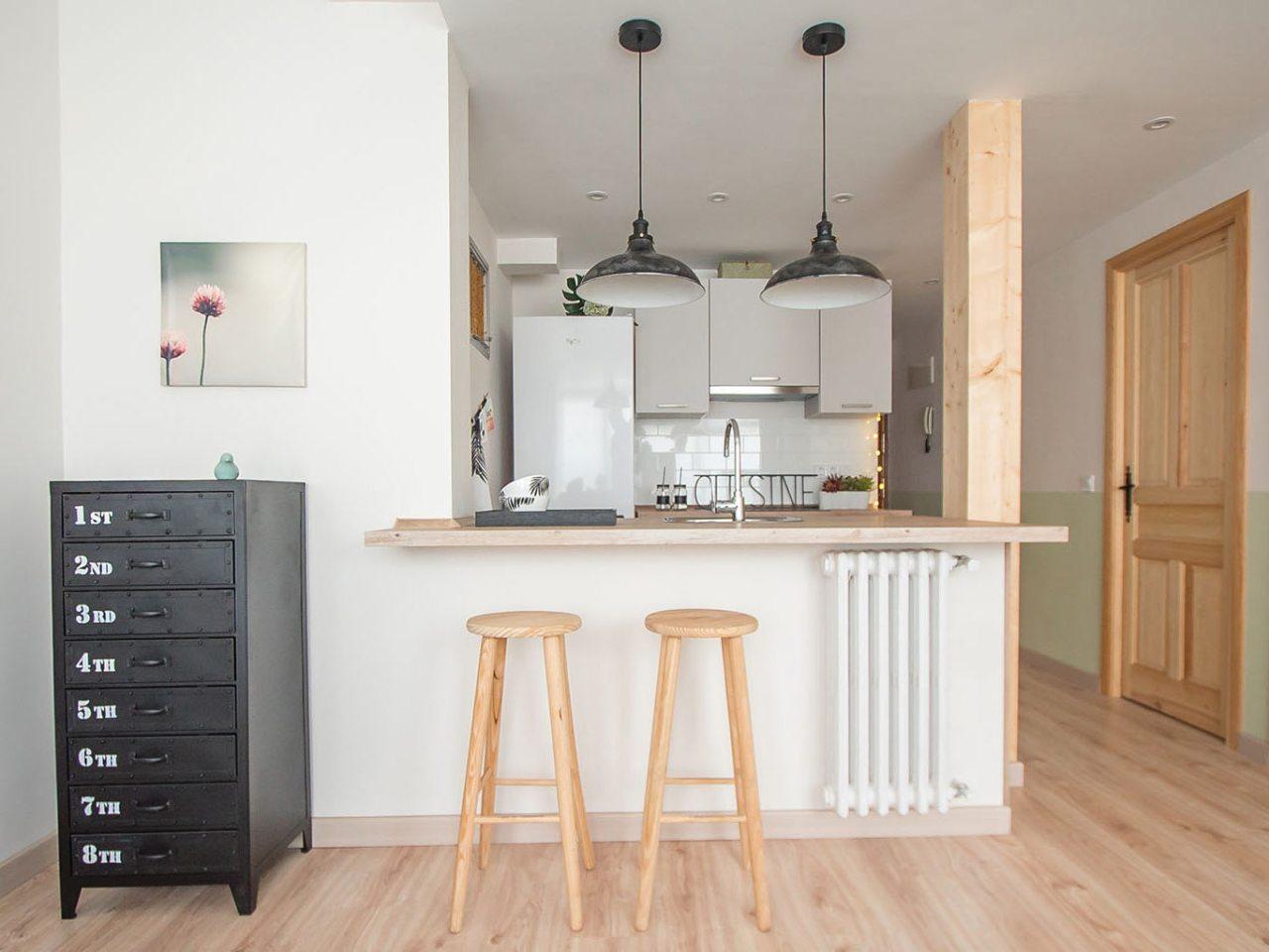 Piso de 65 m reformados en madrid se vende en 24 horas - Reformas pisos pequenos ...