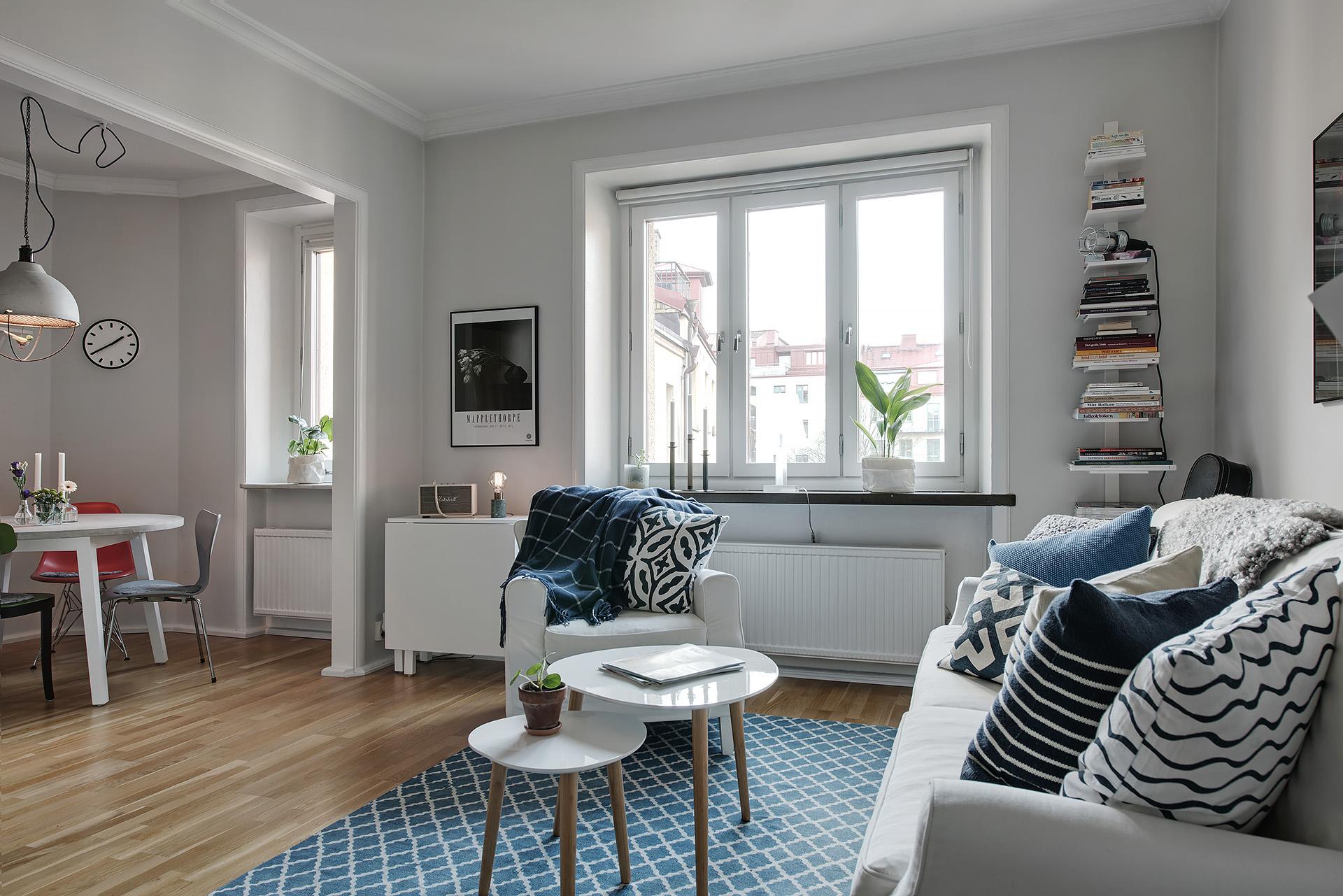 C mo decorar la primera vivienda estudio de alquiler for Decoracion piso 30 m