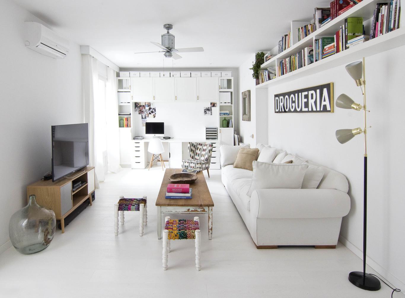 Piso de estilo escandinavo en barcelona blog tienda for Estilos de pisos para apartamentos