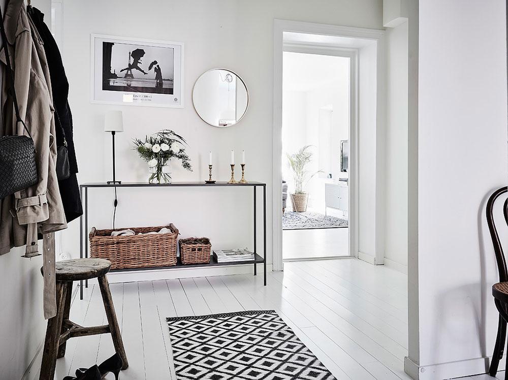 6 claves para decorar un recibidor n rdico blog tienda - Recibidor estilo nordico ...