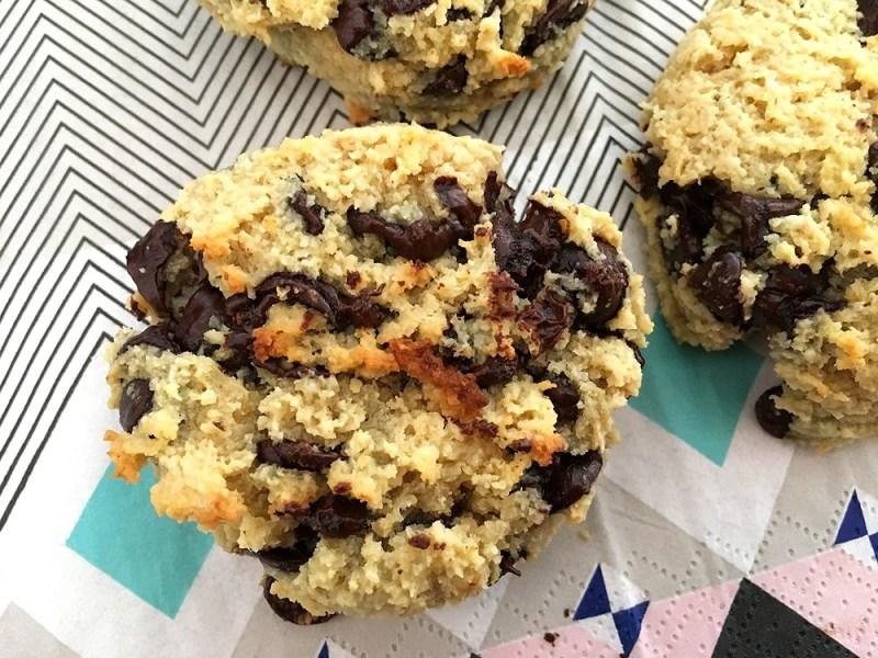 galletas sin mantequilla galletas sin gluten galletas de garbanzos galletas de chocolate cookies sin gluten cookies de garbanzo cookies de chocolate