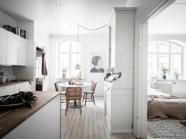 Las cocinas blancas siempre son tendencia