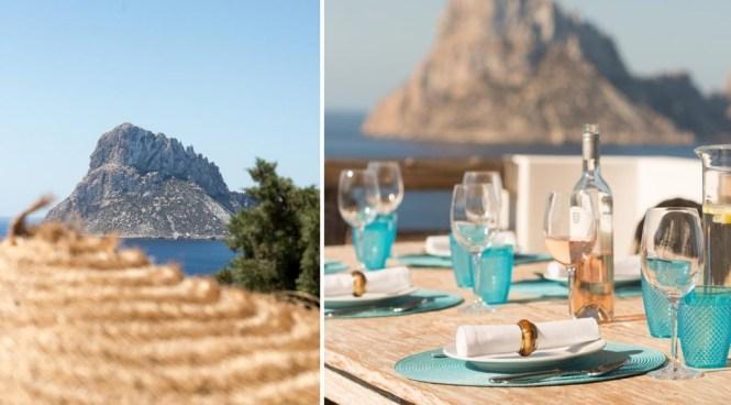 infinity pool estilo mediterráneo ibiza casa vacaciones casa ibiza casa de diseño alquiler vacaciones alquiler ibiza