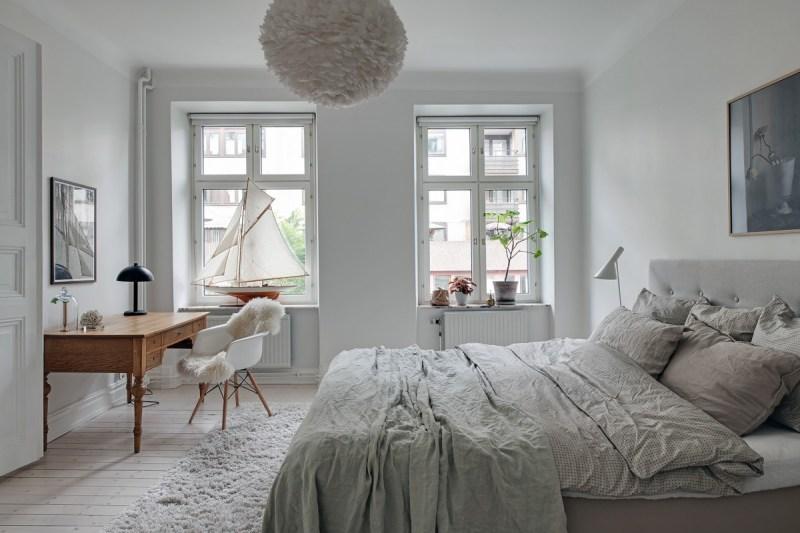 estilo nórdico decoración escandinava decoración en blanco decoracion dormitorios