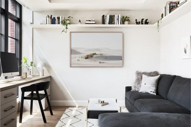 estilo escandinavo diseño danés decoración new york decoración blanco y negro