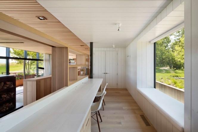 scandinavian style hamptons style estilo escandinavo nórdico estilo americano costa este decoración villas lujo casa junto a la playa casa integras de madera casa en long island