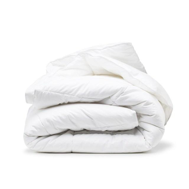 Rellenos nórdicos de Tencel y microfibra de The White Basics, suavidad y calidez en invierno y verano
