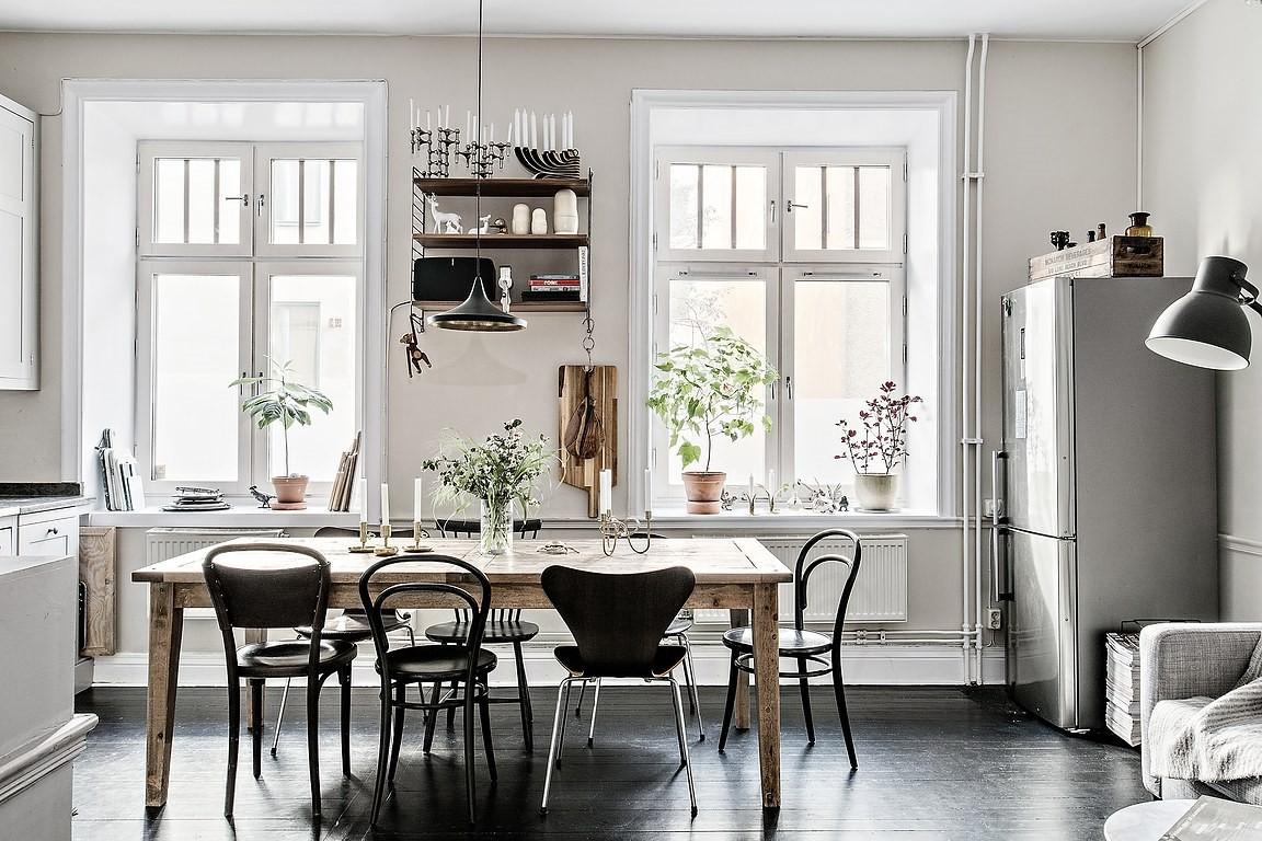 Mesa de comedor con sillas de diferentes estilos - Blog ...