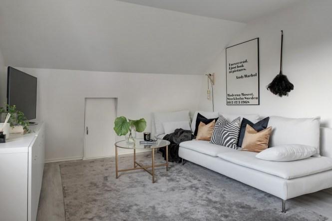 muebles bajos estilismo cama decoración escandinava decoración en blanco armarios y estanterías bajas