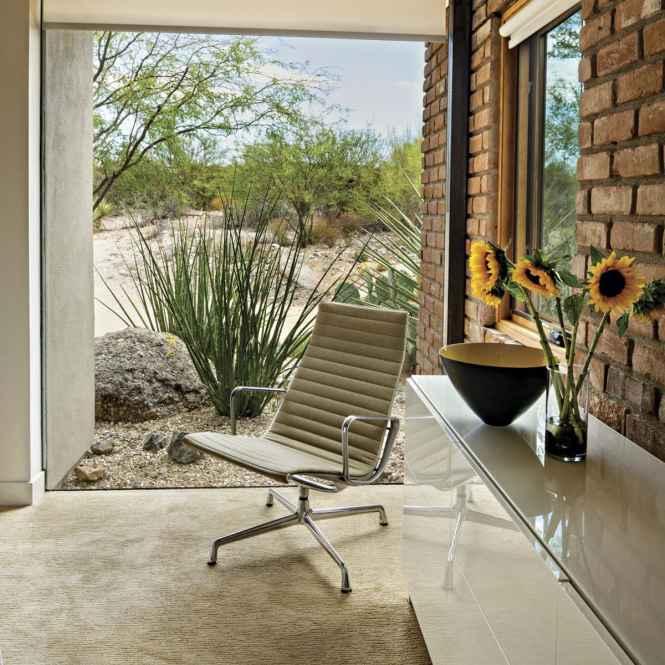 mid-century modern George Nelson estilo mid-century modern estilo desierto desert style Charles y Ray Eames cactus