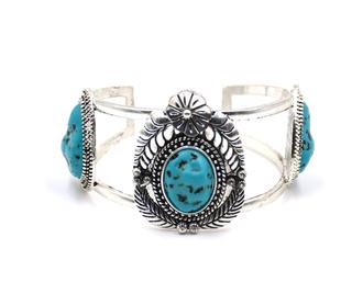 cdTurquoise Blossom Bracelet - Copy