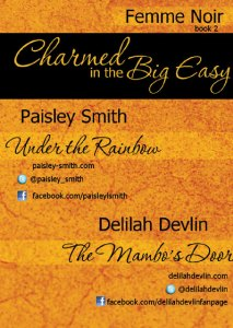 Charmed in the Big Easy Trading Card Back Side