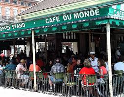 Outdoor cafe from Her Bodyguard