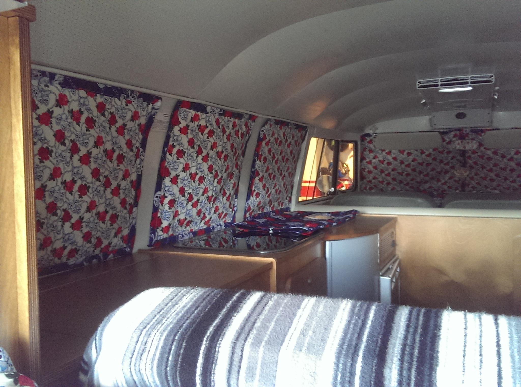 camper magna blinds  Delilahs VW Camper Furnishings
