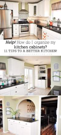 11 Tips for Organizing your Kitchen Cabinets in the most ...
