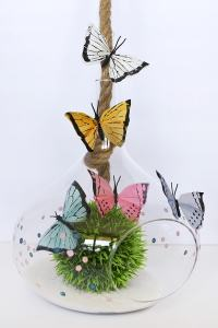 How to make a Colorful Butterfly Terrarium - Delineate ...