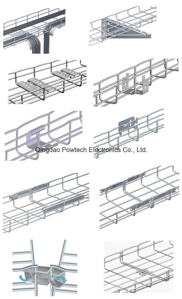 Wire Basket Cable Tray (UL, SGS, IEC and CE)Cable