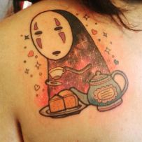 Galaxy-No-Face-tattoo-of-Valentina-Vidal-Tagle