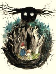 Arte: http://lostconciousness.deviantart.com/art/Over-The-Garden-Wall-517930434