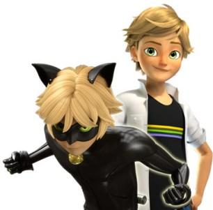 Adrien, o Chat Noir
