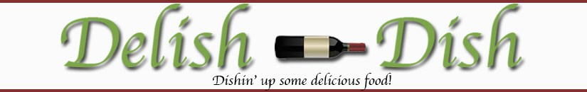Delish-dish blog has a new look!