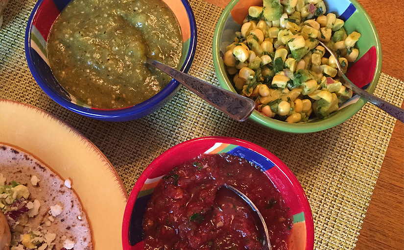 Not one, Not two, But three Incredible Salsas!