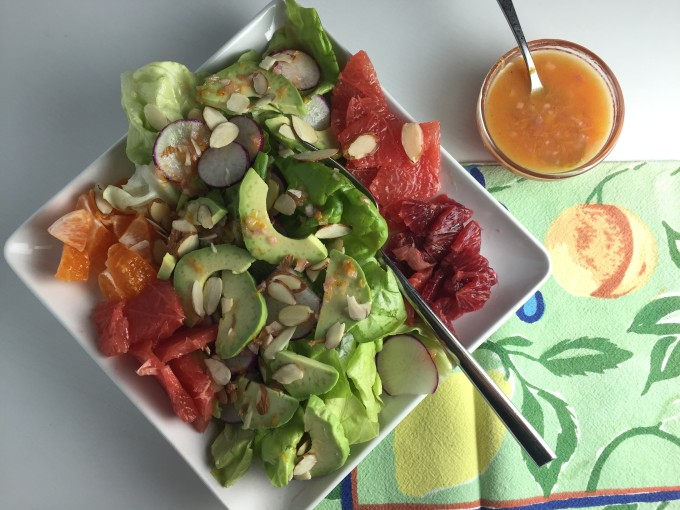 A Colorful Assortment of Winter Citrus Stars in this Refreshing Salad