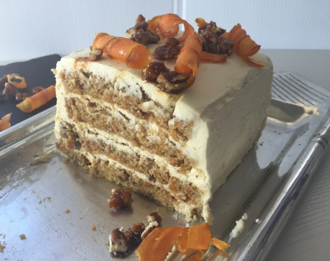 Toss Your Old Carrot Cake Recipe, This One Takes The Cake!