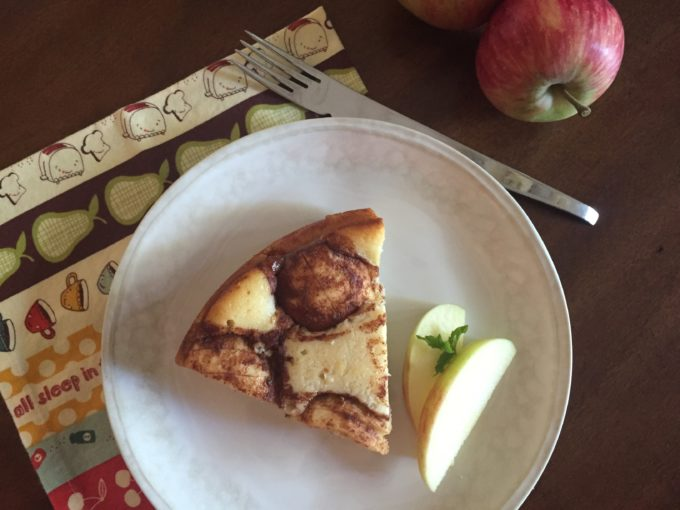 You'll look like a Pastry Chef with this Impressive Apple Cake!