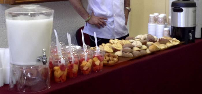 Servicio de comida banquetes eventos catering en Mxico
