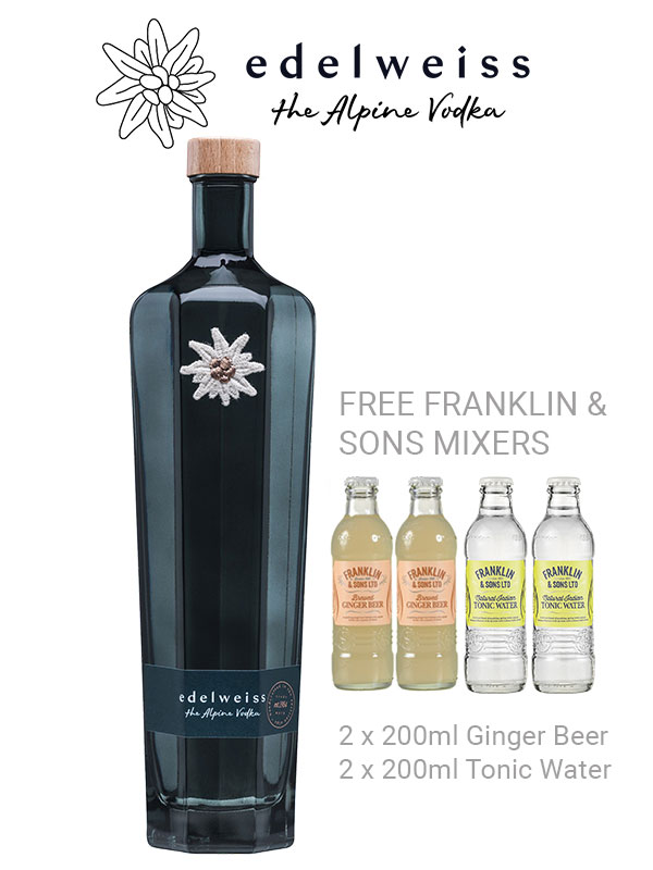 Edelweiss Alpine Vodka Offer