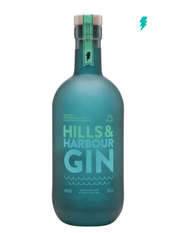 Hills and Harbour Gin 70cl