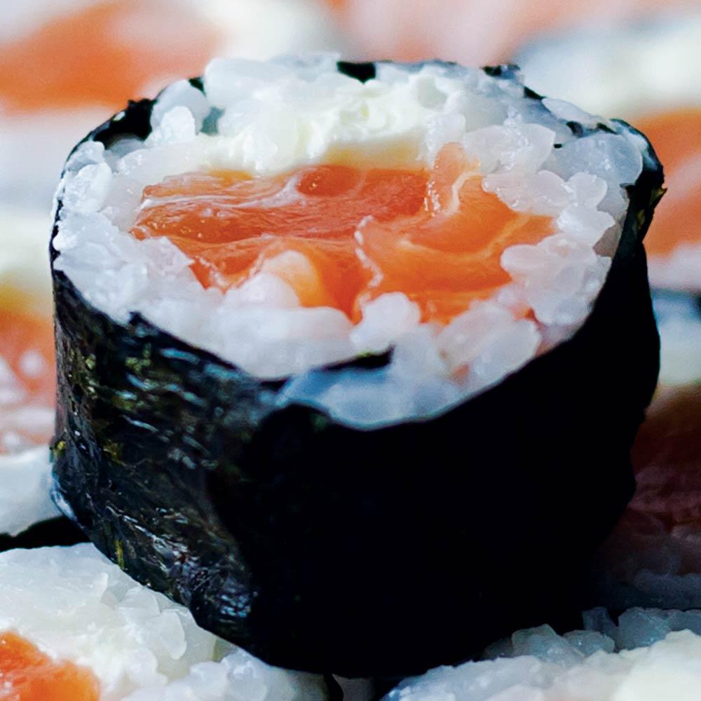 Roll Philadelphia - Delivery Sushi Rão, o Maior do Brasil. O melhor da Comida Japonesa na sua casa!