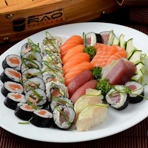 Combo 4 - Delivery Sushi Rão, o Maior do Brasil. O melhor da Comida Japonesa na sua casa!