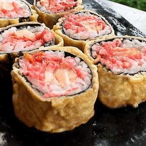 Roll Exclusivo Hot Spicy - Delivery Sushi Rão, o Maior do Brasil. O melhor da Comida Japonesa na sua casa!