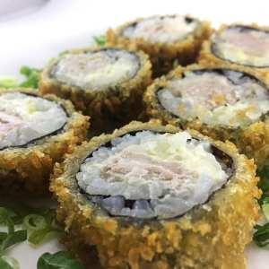 Hot Philadelphia de Atum Crocante - Sushi Rão, o Delivery que mais vende Hot Philadelphia no mundo! O melhor da Comida Japonesa na sua casa!